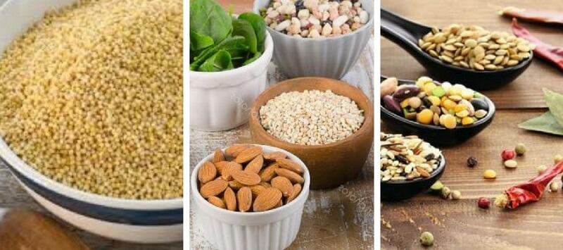 Alimentos ricos en Silicio orgánico