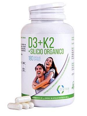 Vitamina d3 + silicio organico