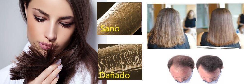 colágeno en cabello