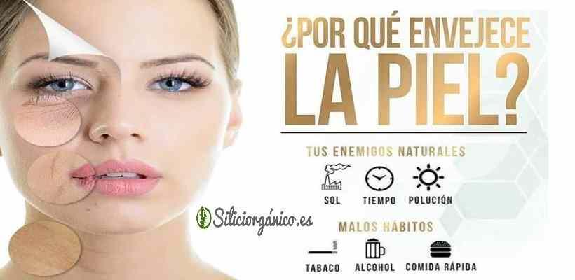 Silicio orgánico en nuestra piel